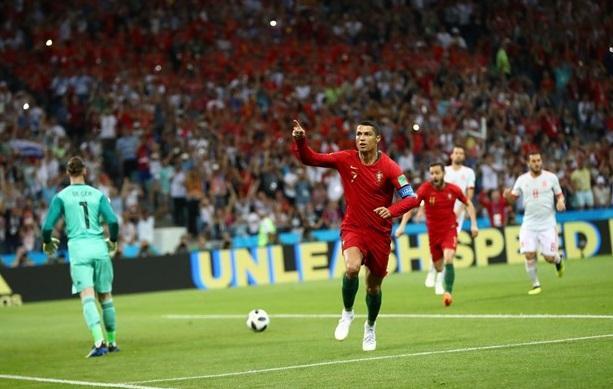 Ronaldo ispanları sevinməyə qoymadı
