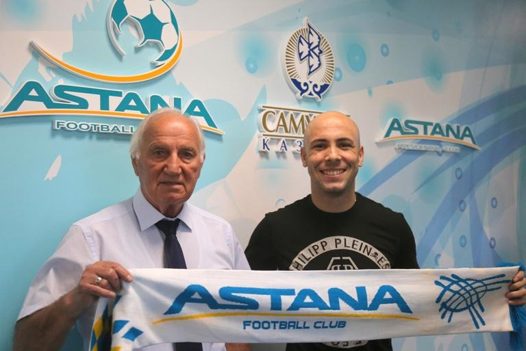 """Riçard Almeyda rəsmən """"Astana""""da!"""