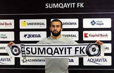 """""""Qarabağ""""dan ayrılan futbolçu """"Sumqayıt""""da"""
