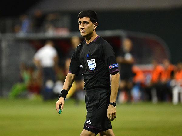 Əliyar Ağayev Avropa Liqasının pley-off oyununda