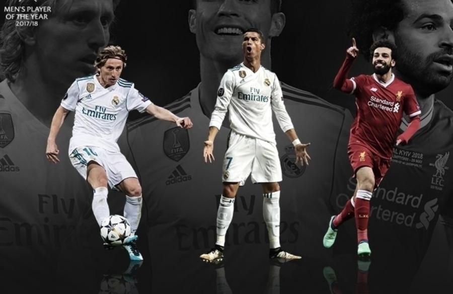 Modriç, Ronaldo və Salah -