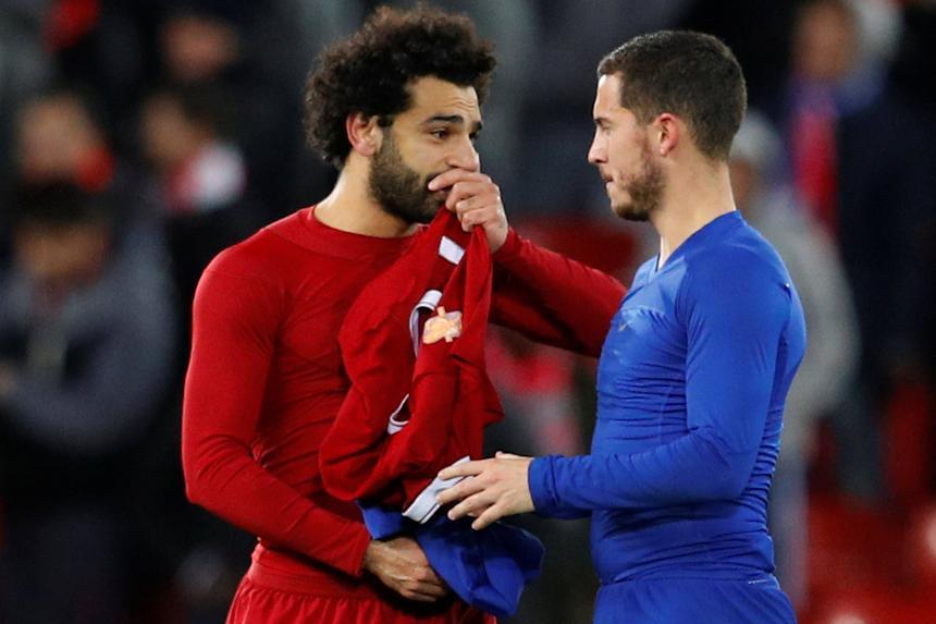 Salah və Hazard rəmzi komandaya düşmədi