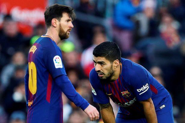 Messi, Suares, Pike oynamayacaq