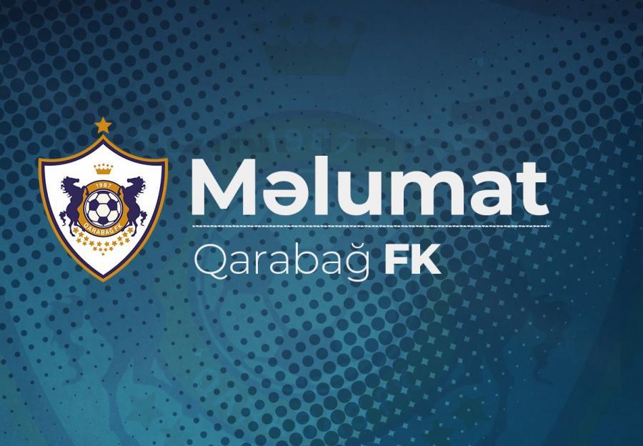 """""""Qarabağ"""" da maliyyə hesabatını yayımladı"""