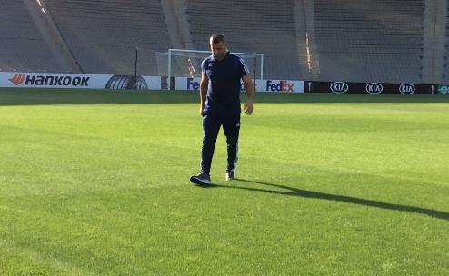 Qurban Qurbanov Respublika stadionunu yoxladı