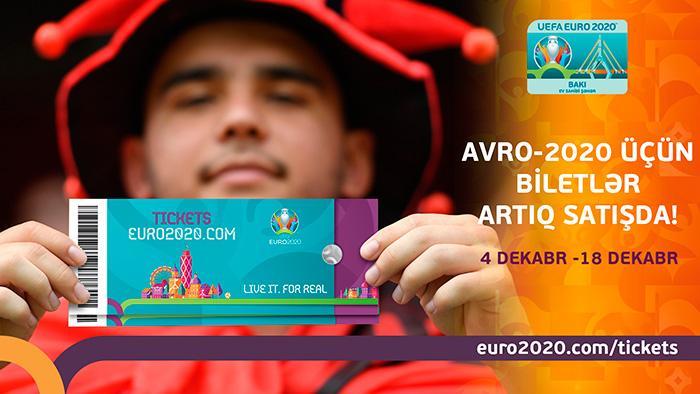 Avropa Çempionatının biletləri satışa çıxarıldı -