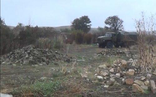 İşğaldan azad edilən Çaxırlı kəndi -