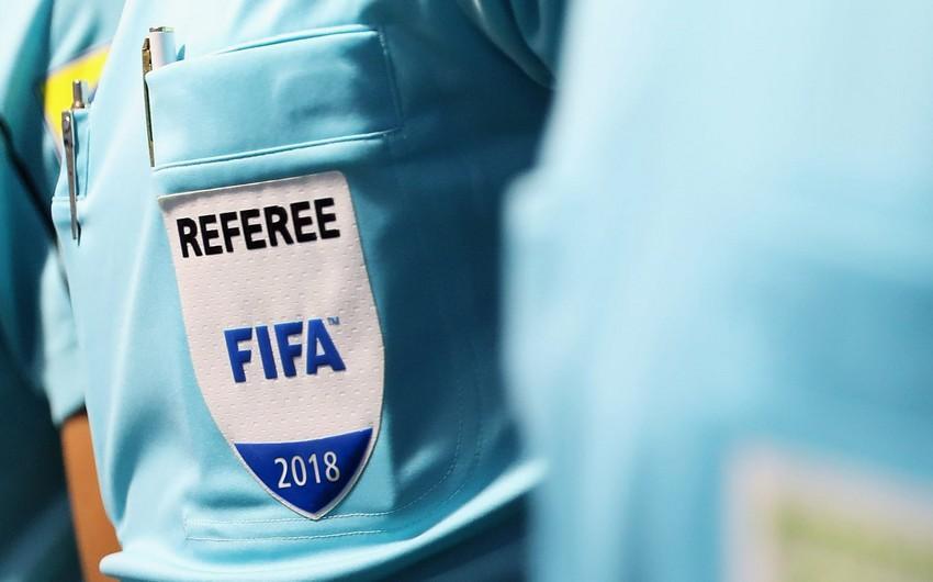 FIFA referilərimizin siyahısında dəyişiklik edildi -