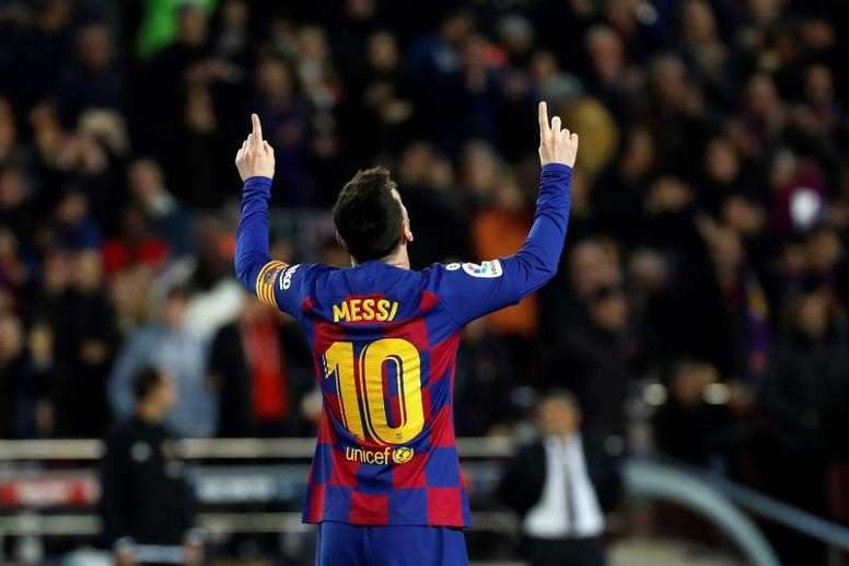 Messi tarixi rekorda imza atdı