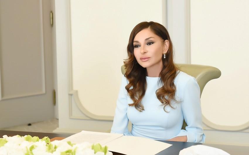Mehriban Əliyeva yenidən AGF-nin prezidenti seçildi