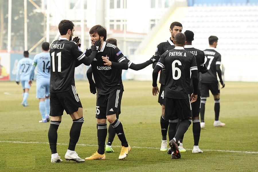 """""""Qarabağ"""" 4-0 """"Səbail"""" -"""