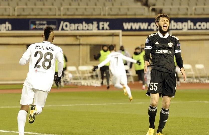 """""""Qarabağ"""" 1-2 """"Neftçi"""" -"""