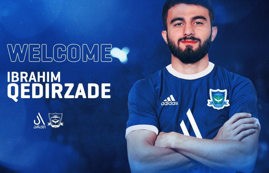 Azərbaycanlı futbolçu Gürcüstan klubunda -