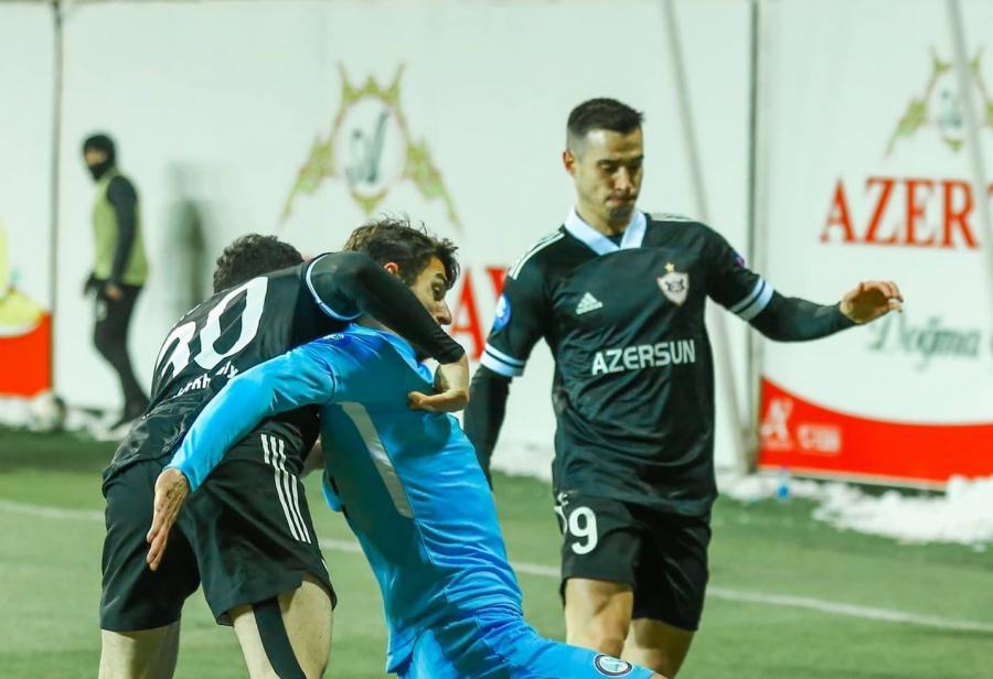 """""""Qarabağ"""" 1-0 """"Səbail"""" -"""
