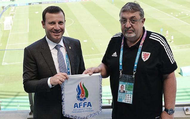 Elxan Məmmədov FA-nın prezidenti ilə görüşdü -
