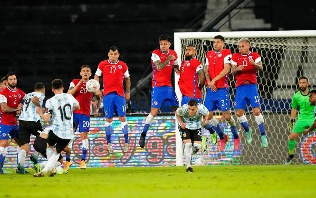 Argentina - Çili - 1:1 -