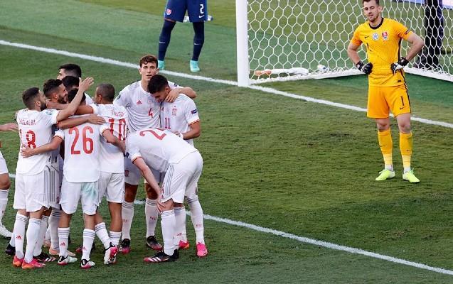Slovakiya - İspaniya 0:5 -