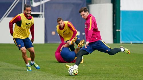Messi sağaldı