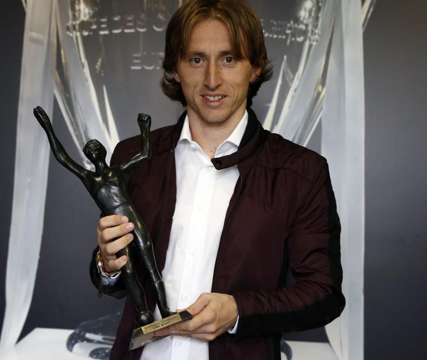 Modriç 5-ci dəfə ölkəsinin ən yaxşı futbolçusu seçildi