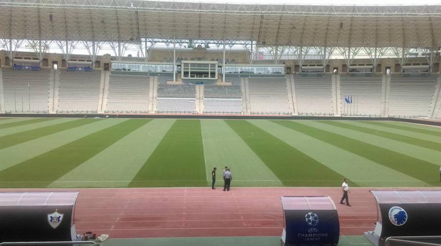 """""""Qarabağ"""" - """"Kopenhagen"""" matçı öncəsi Respublika stadionunda ən son yeniliklər - FOTOLAR"""
