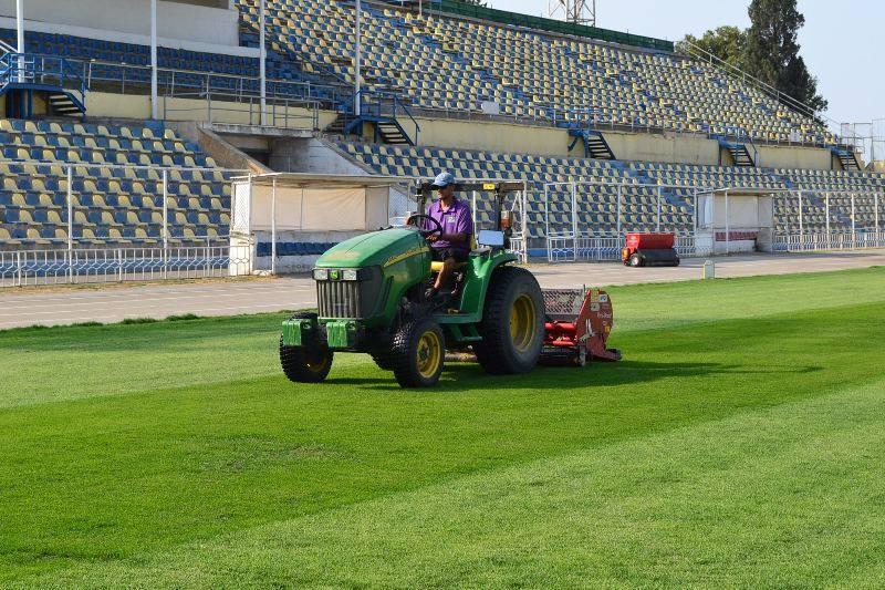 Gəncə şəhər stadionunun son görüntüsü - <font color=#ff0000>FOTO</font></strong>