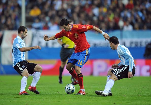 İspaniya Argentina ilə qarşılaşacaq