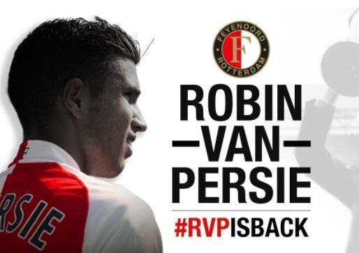 Van Persi rəsmən Feyenoordda