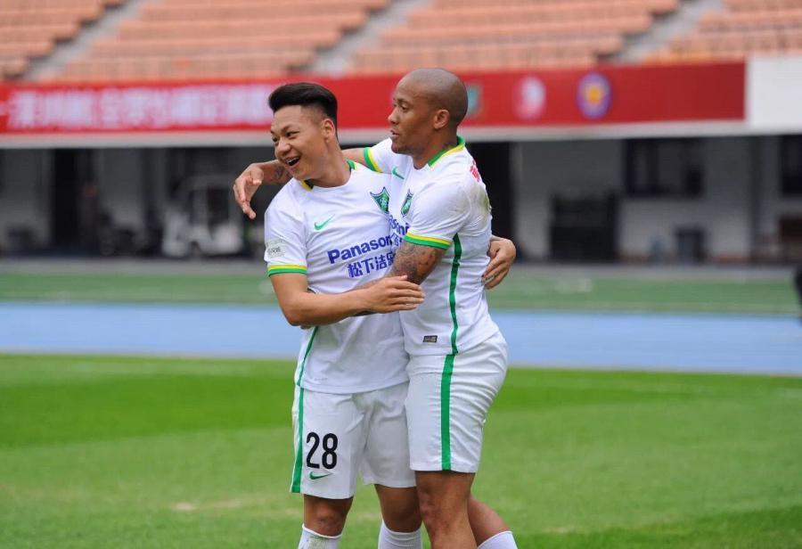Dino Ndlovu Çin klubunda qol hesabını açdı - <font color=#ff0000>FOTO</font></strong>