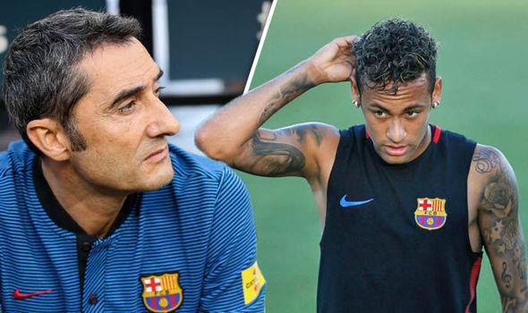 """""""Barselona""""nın baş məşqçisindən Neymar açıqlaması"""