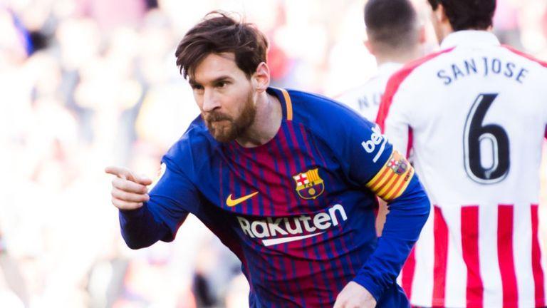 Messi daha bir rekorda imza atdi