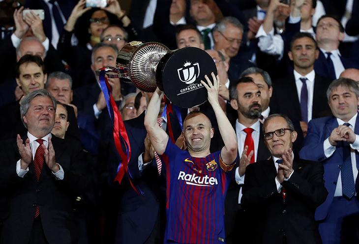 """İnyestanın """"Barselona""""da son kubok oyunu və gözyaşları(qalereya)"""