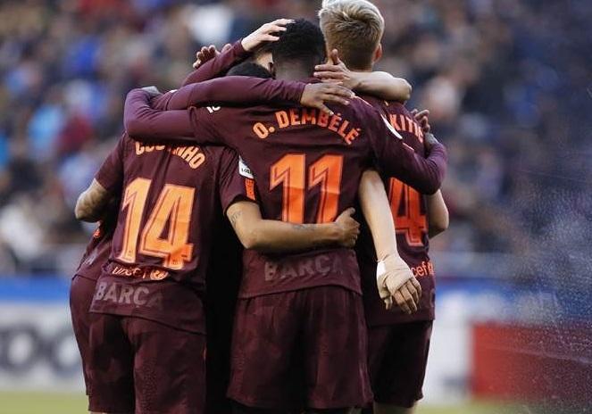 """La Liqanın qalibi - <b style=""""color:red"""">""""Barselona""""!</b>"""