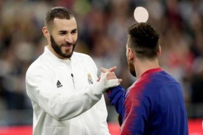 """Benzema """"Barselona"""" və Messidən danışdı"""
