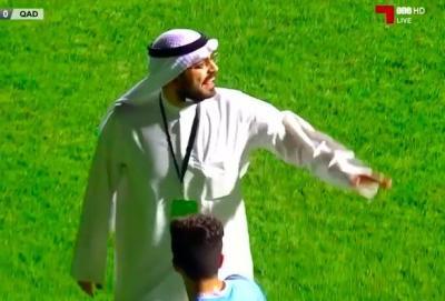 Prezident meydançaya girdi, penaltini ləğv etdirdi