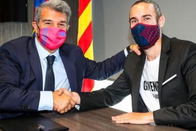 """""""Barselona""""da yeni müqavilə"""