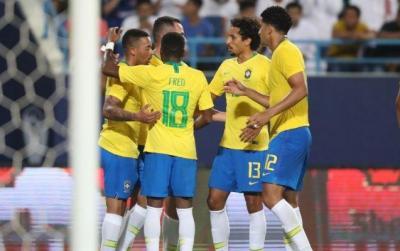 Braziliya millisinin Amerika kuboku üçün heyəti