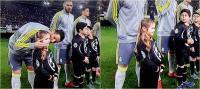 Ronaldo azyaşlı qızı öpdü (VİDEO)