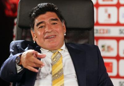 """""""Messi ilə Ronaldo arasında fərq çox azdır"""" – <b style=""""color:red"""">Maradona</b>"""