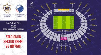 """""""Qarabağ"""" – """"Kopenhagen"""": <b style=""""color:red""""> biletlər satışa çıxır</b>"""