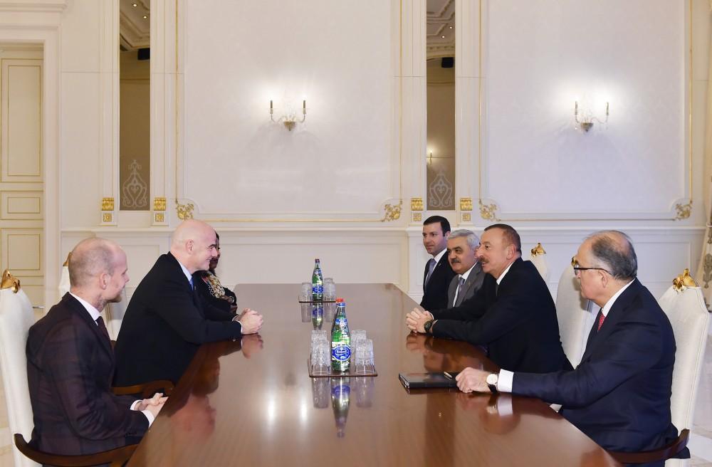 """İlham Əliyev: """"Millinin daha çox uğur qazanacağına ümid edirik"""""""