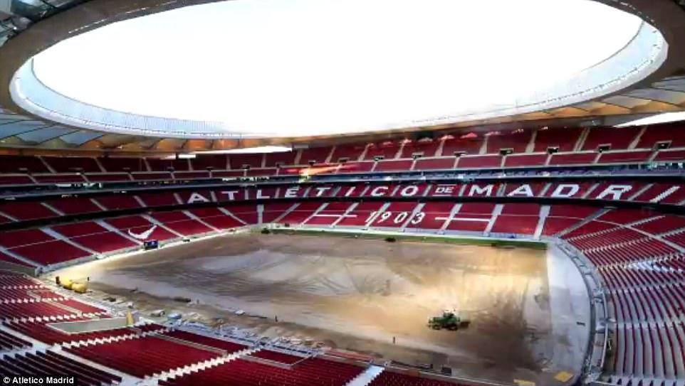 """► """"Atletiko""""nun yeni stadionu"""