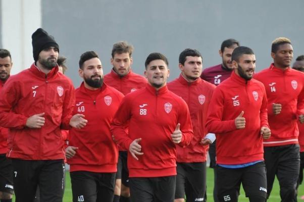"""""""Keşlə""""nin Antalyada ilk məşqi (Qalereya)"""