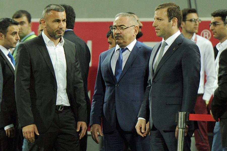 """""""Qarabağ""""a kubok və qızıl medallar təqdim olundu (Qalereya)"""