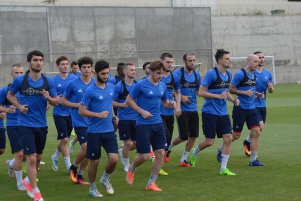 """""""Qarabağ"""" oyuna hazırlığını başa vurdu (Qalereya)"""