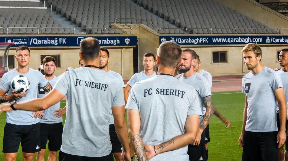 """""""Şerif""""in Bakıdakı məşqi (Qalereya)"""