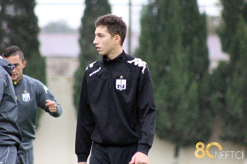 """""""Neftçi""""də 16 yaşlı futbolçu (Qalereya)"""