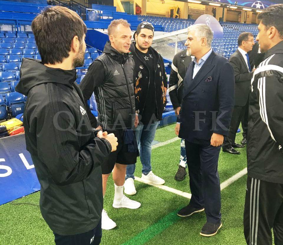 """""""Qarabağ"""" """"Stemford Bric""""də məşqi (qalereya)"""