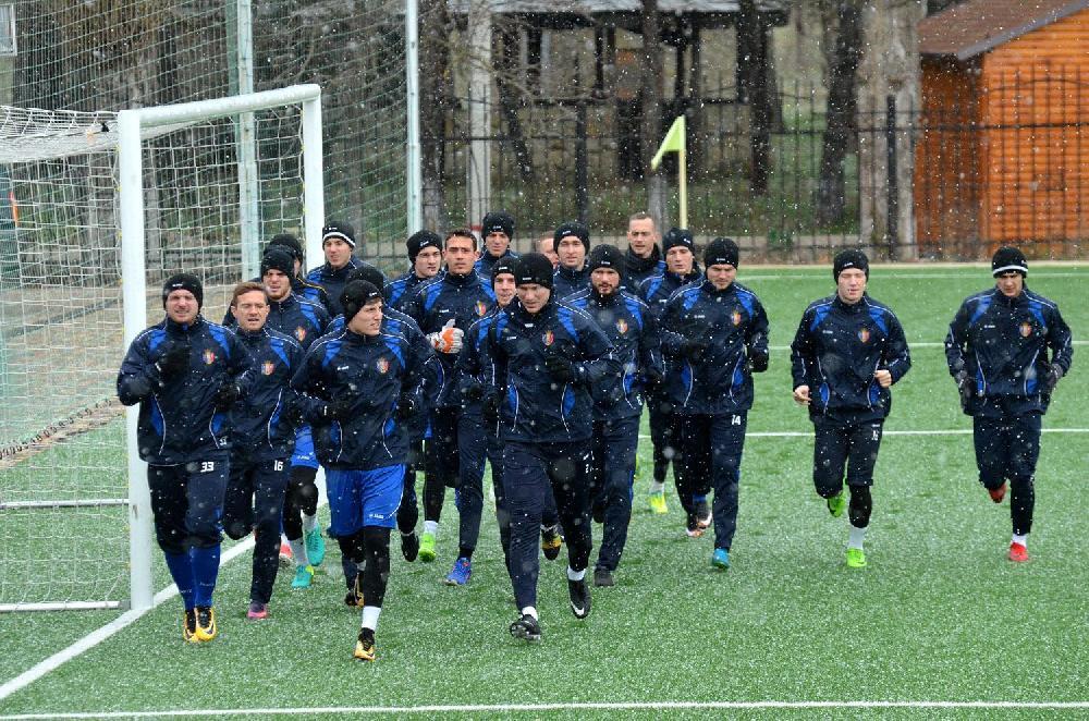 Moldova millisi yığmamızla oyuna hazırlaşır (Qalereya)